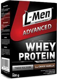 l men platinum suplemen fitness susu whey protein l men l men