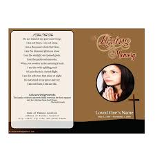 memorial service programs template template for obituary programs images of catholic