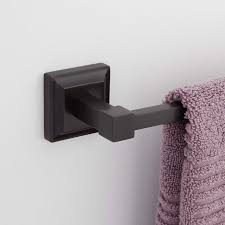Oil Rubbed Bronze Bathroom Hardware by Aaliyah Towel Bar Towel Holders Bathroom Accessories Bathroom