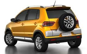 volkswagen fox 2016 2015 vw crossfox rear quarter angle indian autos blog