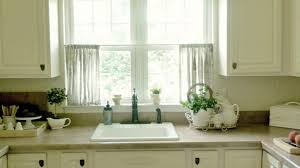 Kitchen Curtains Blue Endearing Bj S Country Charm Kitchen Curtains Of Styles Home