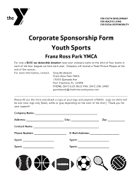 Sample Letter For Fundraising Donations by 19 Sport Sponsorship Proposal Template Event Management