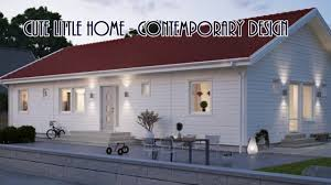 cute little home contemporary design youtube