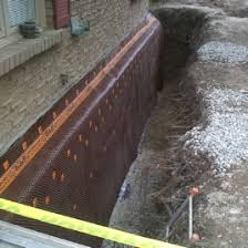 Basement Wall Waterproofing by How To Basement Waterproofing Diy Exterior Wall Foundation
