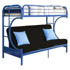 Eclipse Kids Futon Bunk Bed BlueTwin XLQueen Acme  Target - Futon bunk bed