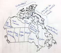 Map Of Canada With Provinces by Americans Were Asked To Label A Map Of Canada Album On Imgur