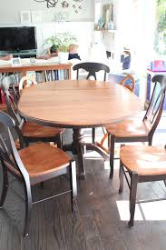 Black Oval Dining Table Kitchen Table Equanimity Refinishing Kitchen Table
