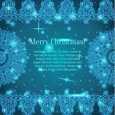 shiny blue merry christmas cards design vector 03 vector card