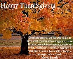 thanksgiving gratitude inspirational table quotes pemf healing