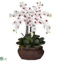 silk orchids artificial white orchids silk orchid flowers faux white