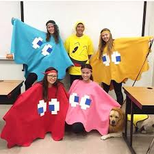 easy and diy costume for pacman and the