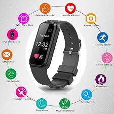 activity monitoring bracelet images Fitness tracker with heart rate monitor color screen smart slim jpg