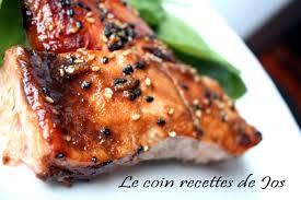 cuisiner filet de saumon le coin recettes de jos filet de saumon au vinaigre balsamique