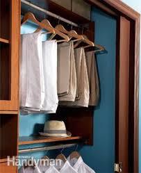Build Closet Shelves by Build A Low Cost Custom Closet Family Handyman
