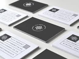 Monogram Business Cards 58 Modern Examples Of Monogram Designs Web U0026 Graphic Design