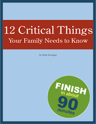 12criticalthings help advice checklist tools resources