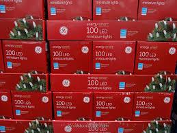 ge led christmas lights ge energy smart mini white 100 led lights