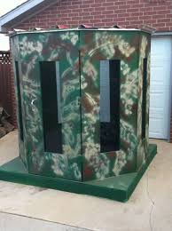 Elevated Bow Hunting Blinds Simple Bow Hunting Blind Plans Box Blinds Big Game Tree Throughout