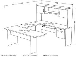 Standard Desk Size Office Office Furniture With Dimensions Photo Yvotube Com