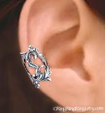 ear cuff jewelry hummingbird ear cuff sterling silver earrings hummingbird