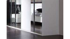 schlafzimmer davos set davos alpinweiß chrom mit spiegel 4 teilig