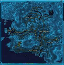 Swtor Map The Planets Index Custom Sections Shock And Jawa The