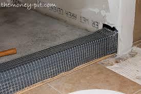 Bathroom Waterproofing Master Bathroom Days 11 13 Shower Curb Waterproofing And Floor