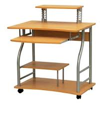 impressive on computer desk with wheels with office table portable