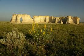 Kansas scenery images Kansas scenery monument rocks in western kansas travel kansas jpg