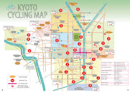 Map A Bike Route by Cycling Map Kyoto Eco Trip