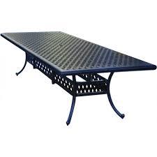 cast aluminum dining table darlee santa monica 11 piece cast aluminum patio dining set