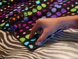 diy blanket how to easy no sewing diy blanket youtube