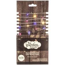 hobby lobby garden lights miniature battery operated led string lights hobby lobby 1177096