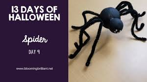 Crafts For Kids For Halloween - crafts for kids halloween spider craft blooming brilliant
