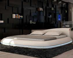 bedroom attractive how make round bed frame circular turning
