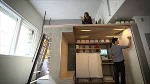 you won u0027t believe everything this tiny loft can do youtube