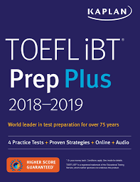 toefl ibt prep plus 2018 2019 book by kaplan test prep