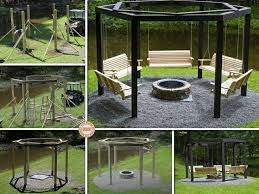 Fire Pit Gazebo by 264 Best Outdoor Spaces Images On Pinterest Backyard Ideas
