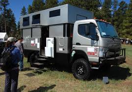 custom fuso fg 4x4 can anyone comment on the off pavement