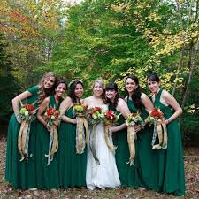 convertible bridesmaid dress set emerald bridesmaid dress