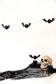 diy bat garland the sweetest occasion