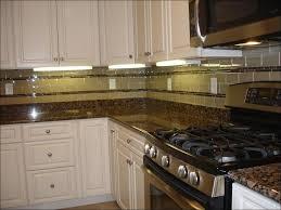 kitchen dark shabby white tile backsplash kitchen cabinets