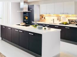 cuisine blanc noir cuisine blanche et