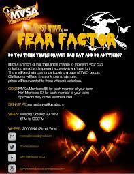 fear factor halloween party ideas mcmaster vsa u2013 mcmaster vietnamese students u0027 association