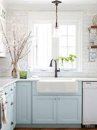 Best  Farmhouse Sink Kitchen Ideas Only On Pinterest Farm - Kitchens with farm sinks