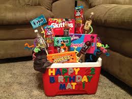 birthday gift baskets for men birthday gift baskets for him blue ideas