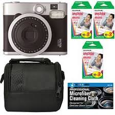amazon black friday instax 90 fujifilm fujifilm instax mini 90 brown instant film camera brown
