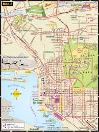 San Diego County Map San Diego Area Map Of Attractions You Can See A Map Of Many