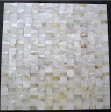 shell tile backsplash yellow gold mother of pearl shell mosaic kitchen wall tiles