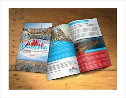 8 best images of travel destination brochure template free